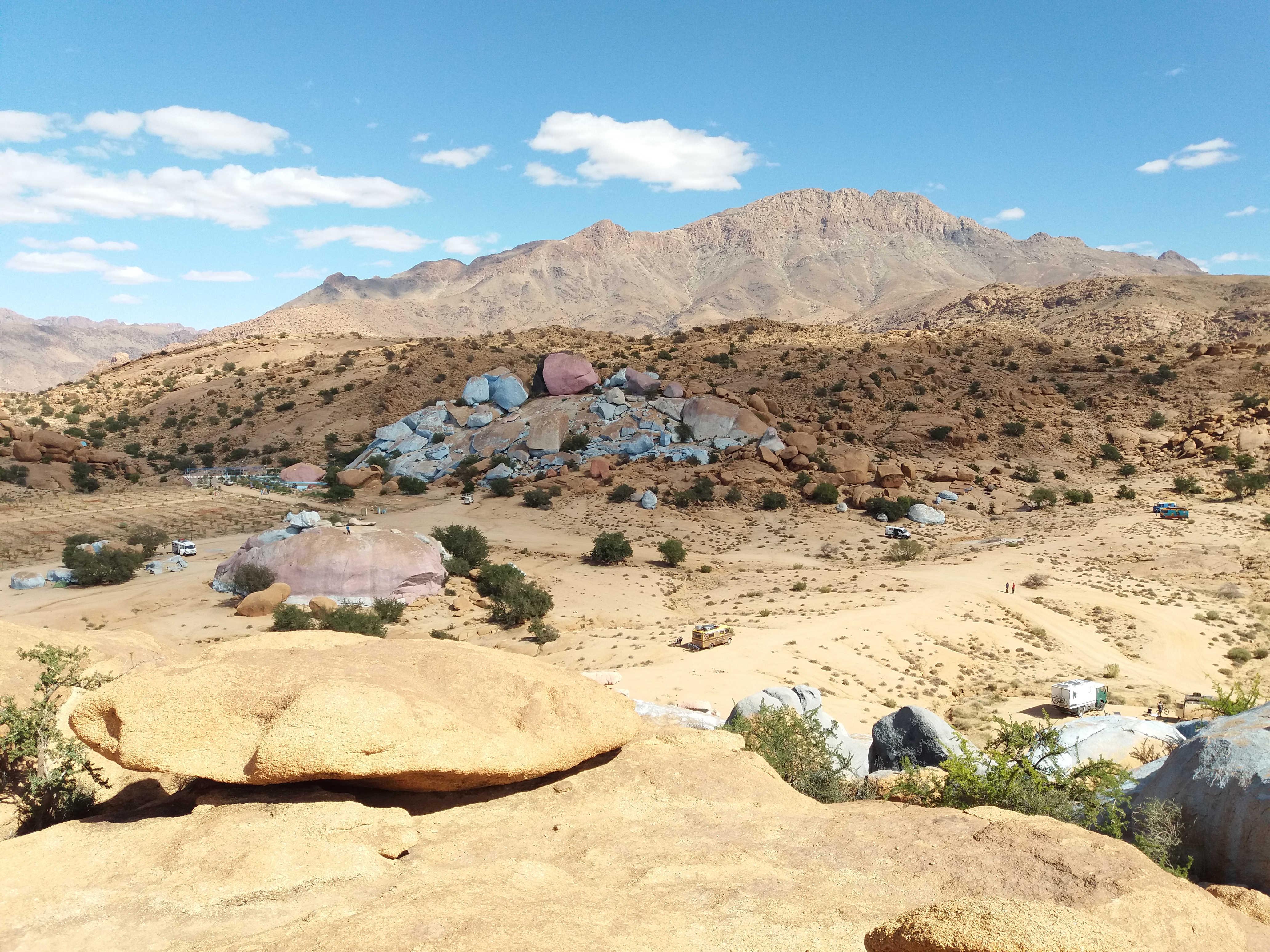 Roadbook – Von Fask zu den blauen Steinen bei Tafraoute