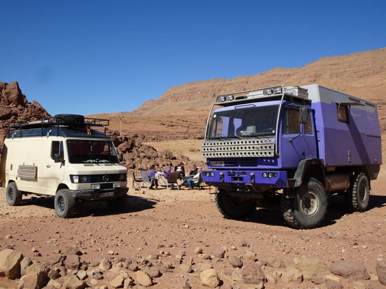 Roadbook – Tête-à-tête mit der Pistenkuh auf dem Weg nach Errachidia